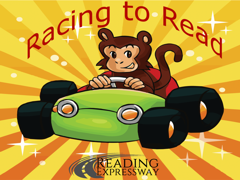 Racing to Read app launch stretch